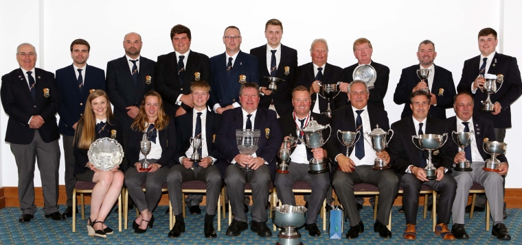 England Team and their winning trophies