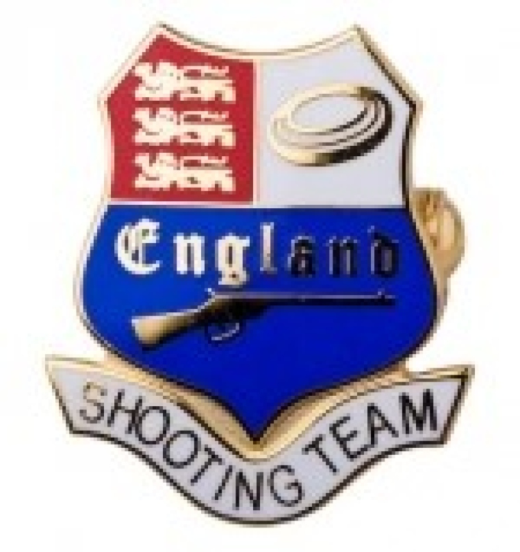 England Team badge.