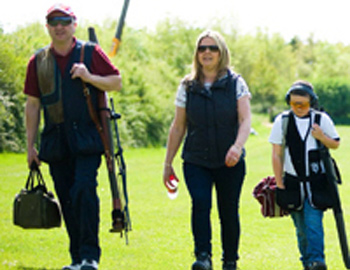 Clay pigeon shooting colchester